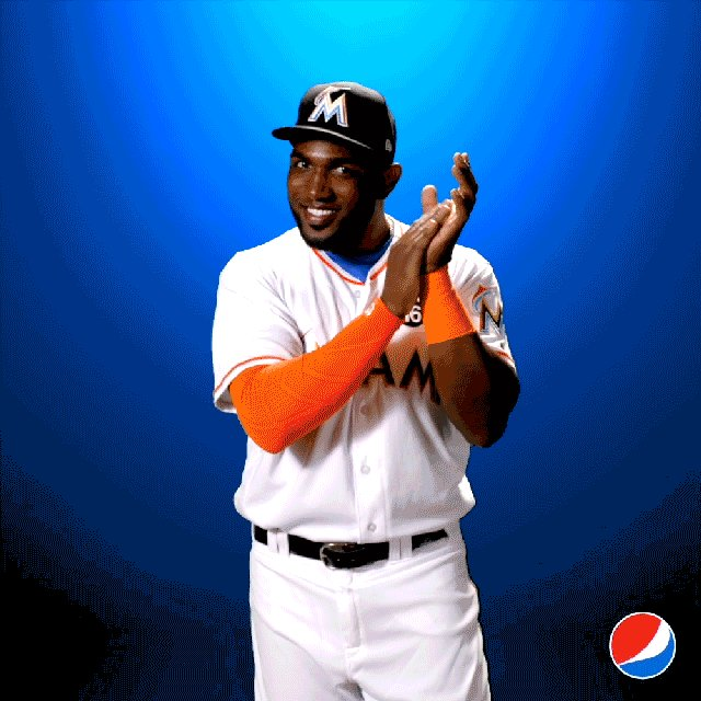 It's official, @marlins #ElOso is this week's player of the week! Time to #BreakOutThePepsi Marcell Ozuna!