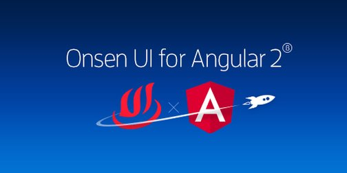We kicked off Onsen UI for Angular 2! Ready to create astonishing @angularjs hybrid apps?