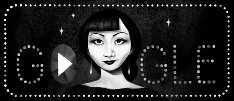 Image for the Tweet beginning: Today's #GoogleDoodle celebrates Anna May