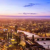 London view from the sky