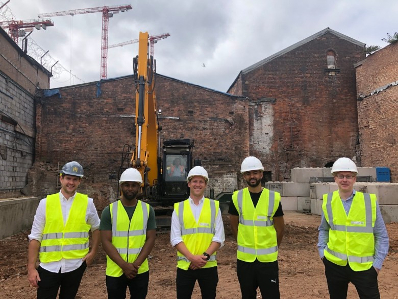 Team at volume.works PBSA scheme, Birmingham - Volume.Property | PBSA News