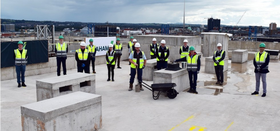 LIV Student York Street complex, Belfast topping out ceremony - GRAHAM | PBSA News