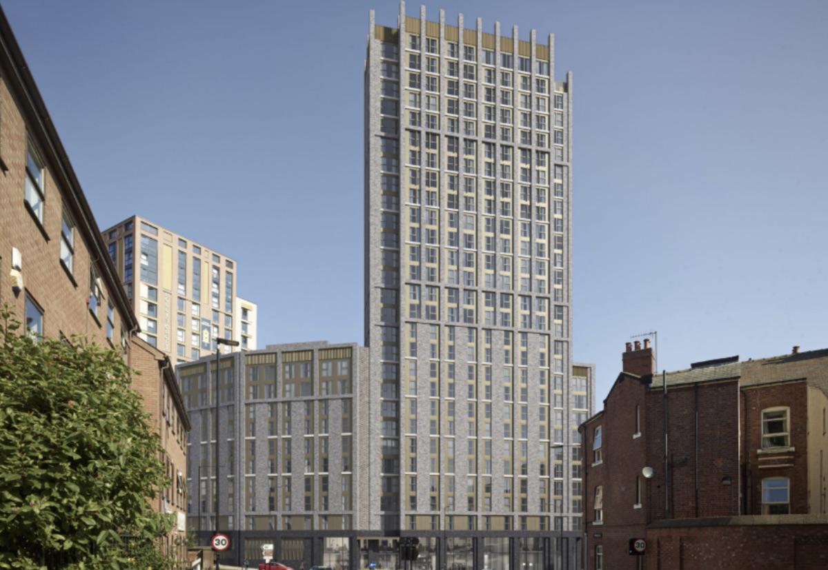 What the Calico Sheffield PBSA scheme could look like - Niveda | PBSA News