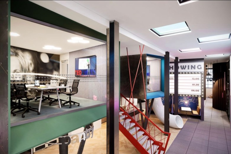 IconInc communal area and slide at Gravity - The Park Lane Group | PBSA News