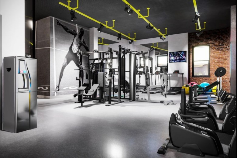 IconInc gym at Gravity - The Park Lane Group | PBSA News