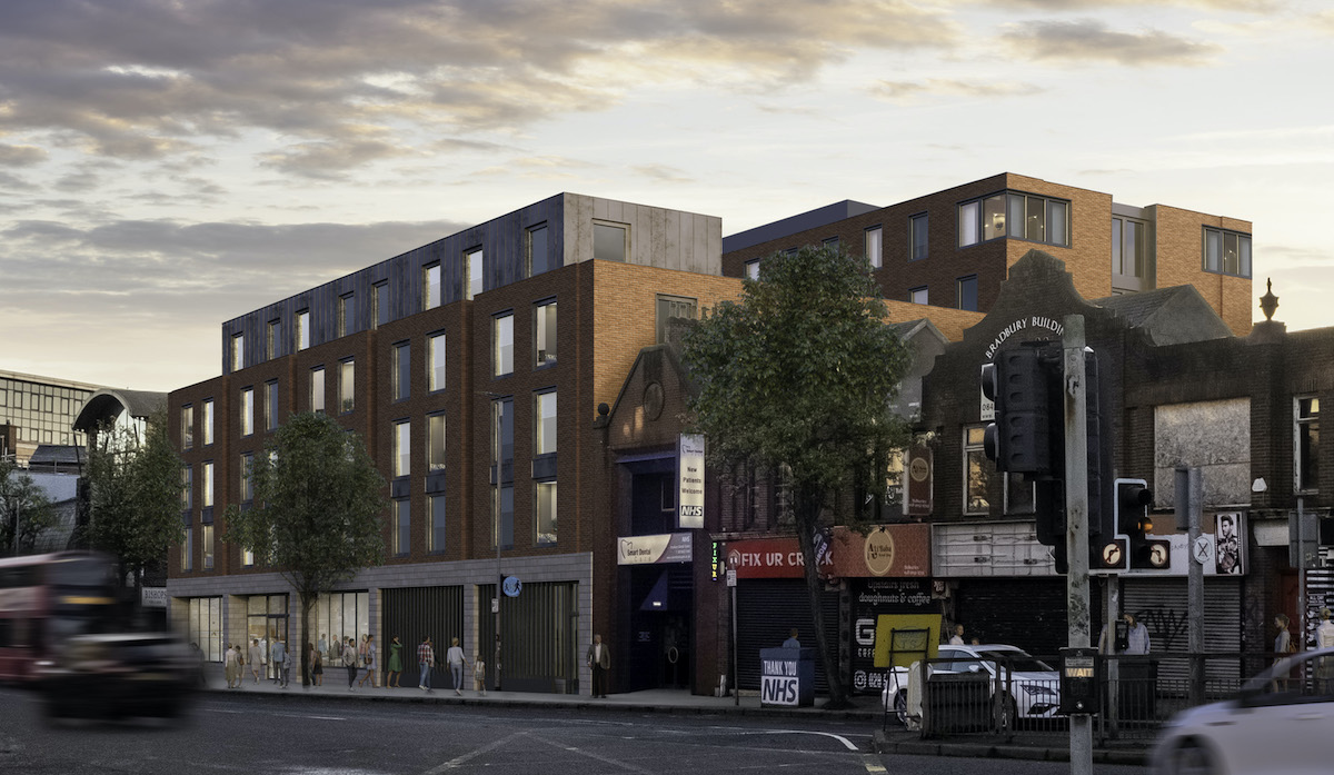 Bradbury Place purpose-built student accommodation scheme - Elkstone Partners | PBSA News