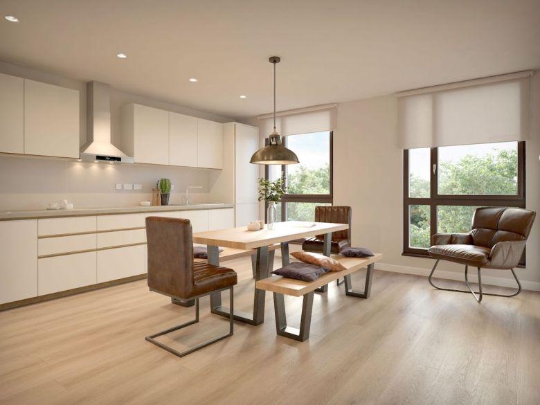 Cluster kitchen at York House scheme - Student Roost | PBSA News