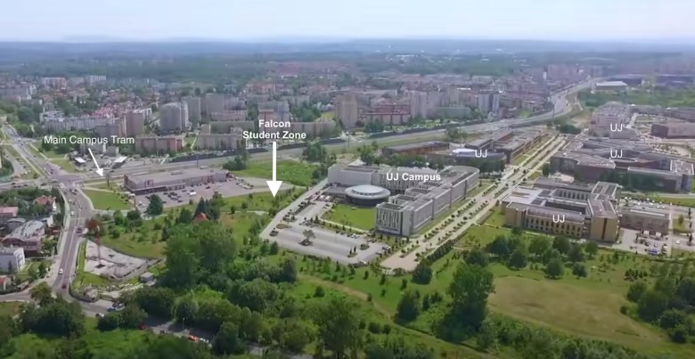 Falcon Student Zone - Kamieniarska Location - UJ Campus - Falcon Development | PBSA News