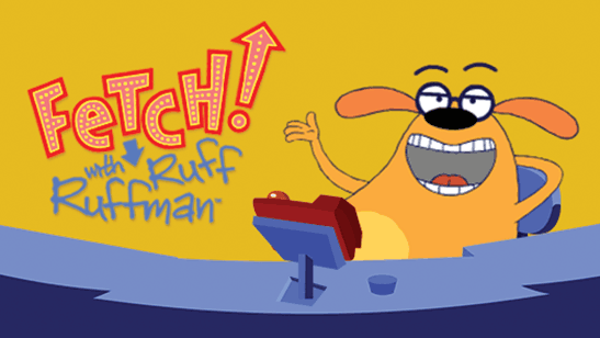 Image result for fetch with ruff ruffman