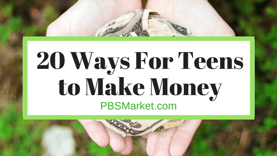 20 Ways to Make Money as a Teen Without Getting a Job (2018)