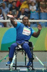 Johnnie Williams at the 2016 Paralympics in Rio