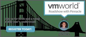 Pinnacle's VMworld Roadshow registration image