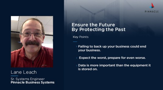 On Air with Pinnacle Podcast Ensure Your Business Future By Protecting Its Past