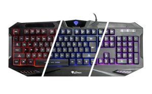 Goedkope gaming toetsenbord de Genesis gaming keyboard/toetsenbord