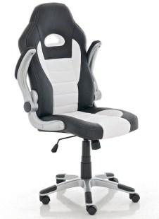 Clp Gaming stoel JOHN Racing bureaustoel - Sport seat racer - wit   CLP racing bureaustoel review