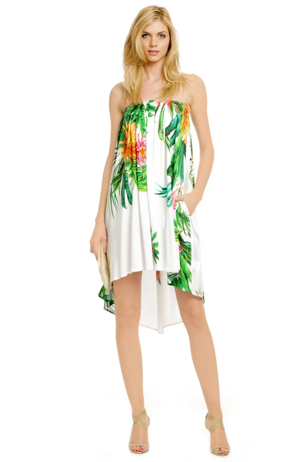 Under The Hawaiian Palms Dress By Msgm For 97