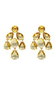 Champagne Kate Chandelier Earrings By Spade New York Accessories