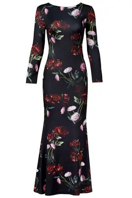 ERIN erin fetherston Falling Peonies Gown