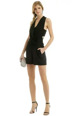 d88d03376076 Robert Rodriguez Collection Caged Romper ...