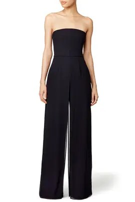 Jumpsuits & Rompers Audacious Black Off-the-shoulder Jumpsuit From Reiss Size 14 Women's Clothing