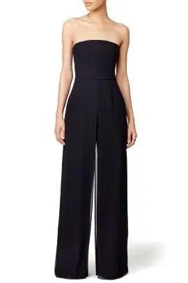 e400b90edc49 Halston Heritage Black Celine Jumpsuit ...