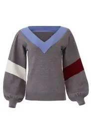 Parker - Grey Maxwell Sweater