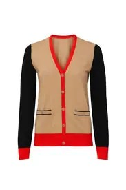 Tory Burch - Colorblock Madeline Cardigan