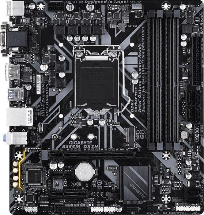 Gigabyte B365M DS3H Micro ATX LGA1151 Motherboard