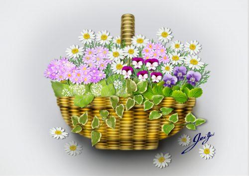 junko jain_baschet & flowers