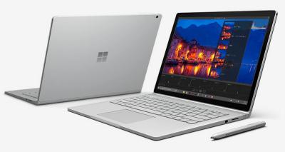 Microsoft初のノートPC「Surface book」発表