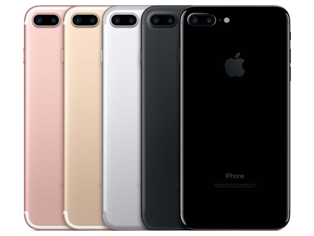 iPhone 7 のカラーバリエーション