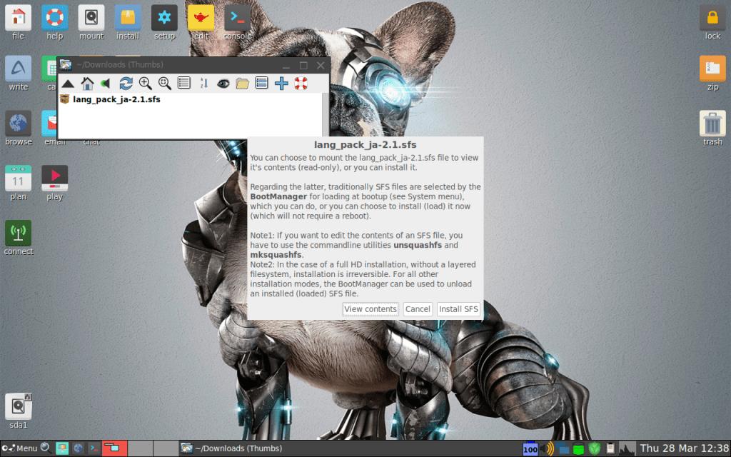 超軽量ディストロ Puppy Linux 8.0 の日本語化に挑戦!