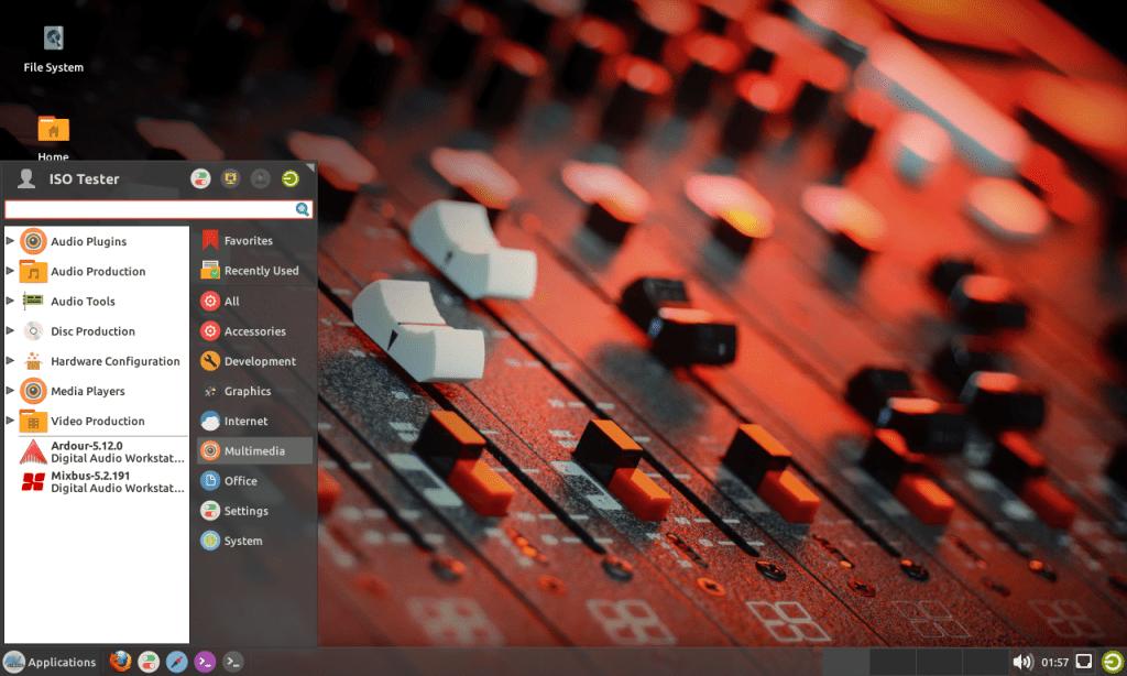 マルチメディアコンテンツ制作向け AV Linux 2019.04.10 がリリースされたので