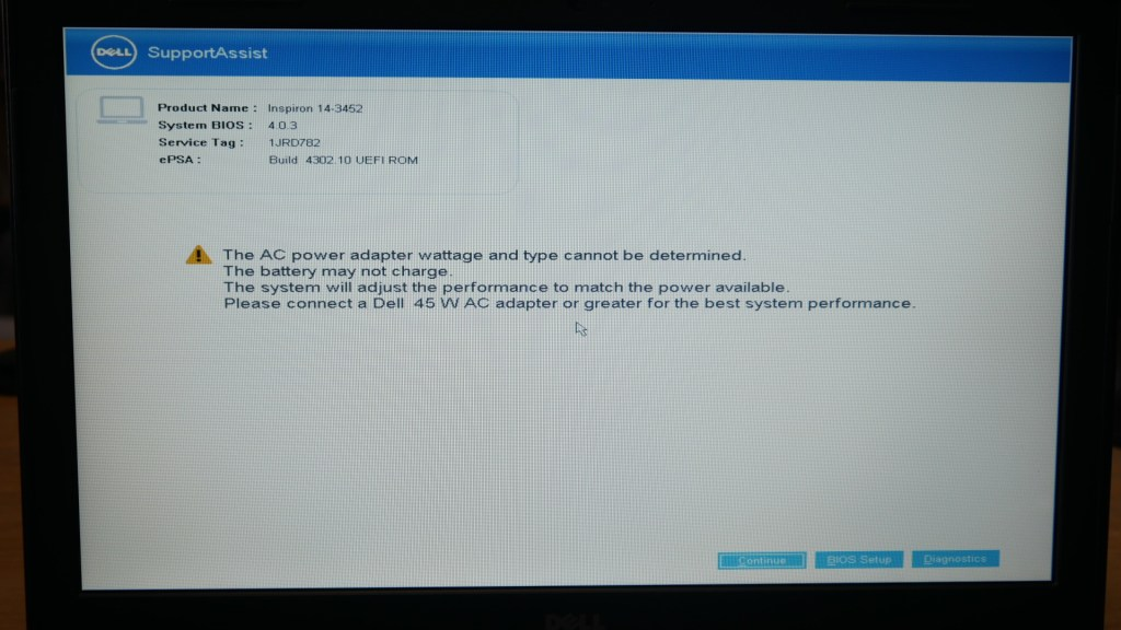 クセが強い Dell Inspiron 14-3452 へ Linux をインストールしてみた