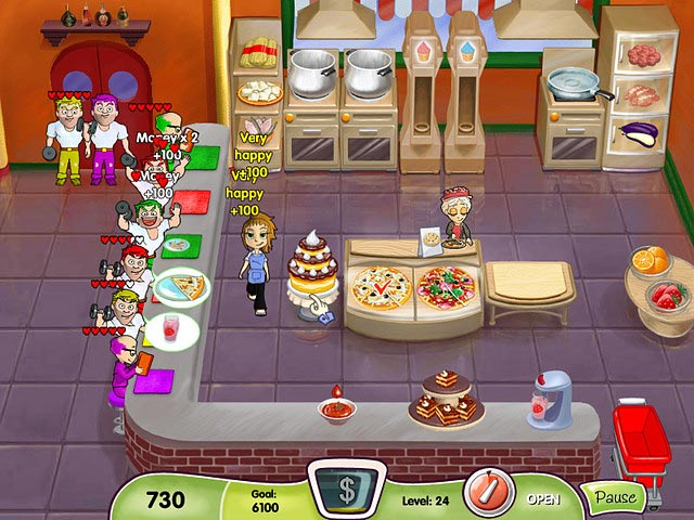 Free Online Games Waitress Restaurants