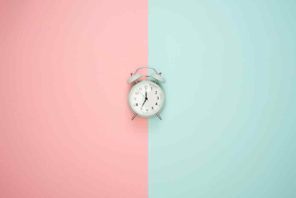 plage horaire defini pour etre plus efficace quand on travaille a la maison