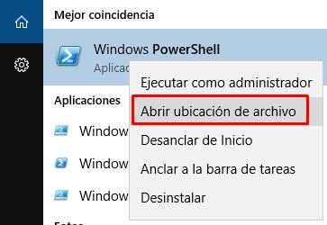 powershell como administrador windows 7