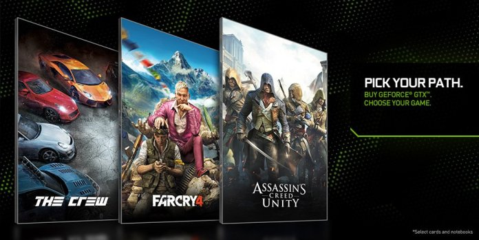 Nvidia in partnership with Ubisoft features some of the year's hottest titles