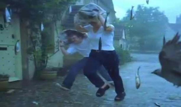 fish-rain in phillipines