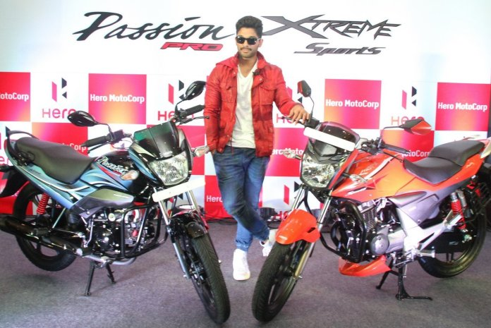 Hero MotoCorp unveils Xtreme Sports and Passion Pro motorcycles in Hyderabad