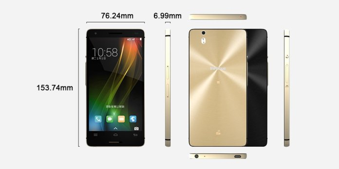"InFoucs Corporation has launched new-fangled premium level mid-range smartphone ""InFocus M810"" in the Indian market."