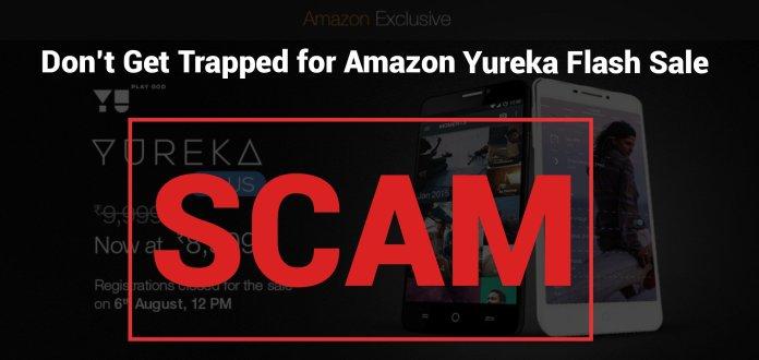 Amazon-Yureka Plus-Flash Sale-Scam-PC-Tablet