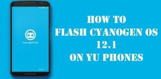 flash Cyanogen OS 12.1