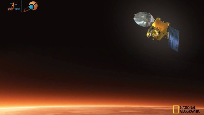 National Geographic Channel to broadcast Mars Orbiter Mission (MOM)