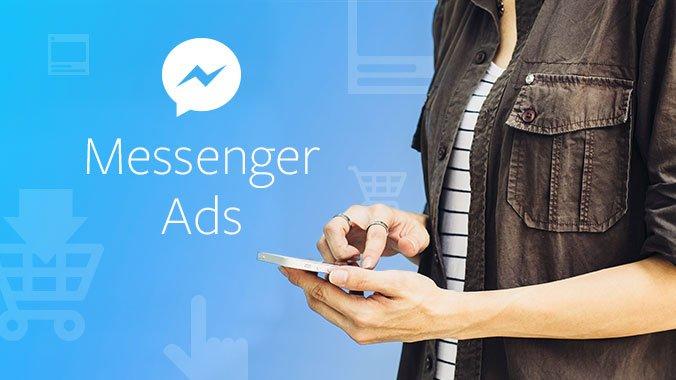 FB Messenger ad