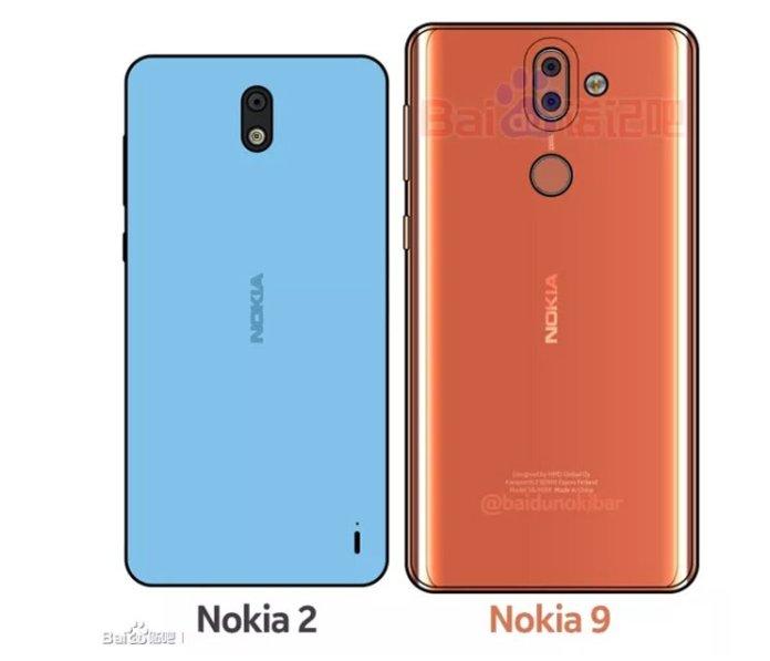 Nokia 2 Nokia 9