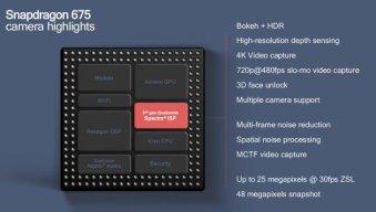 SNapdragon 675 Camera highlights
