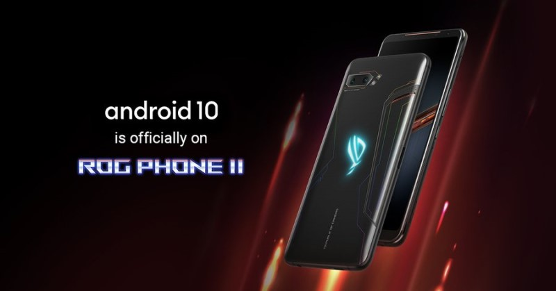 Asus ROG Phone 2 Android 10 Update