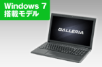 GALLERIA QF940HE Windows 7 Core i5 価格