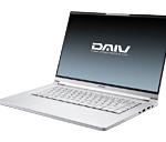 2021年7月下旬DAIV 5P-B i7-10750Hスペック